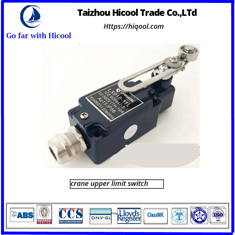 crane upper limit switch
